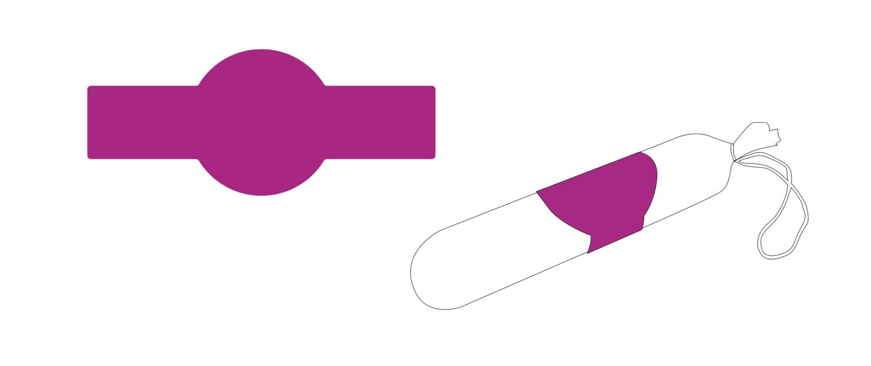 Banderolen zur manuellen Verarbeitung